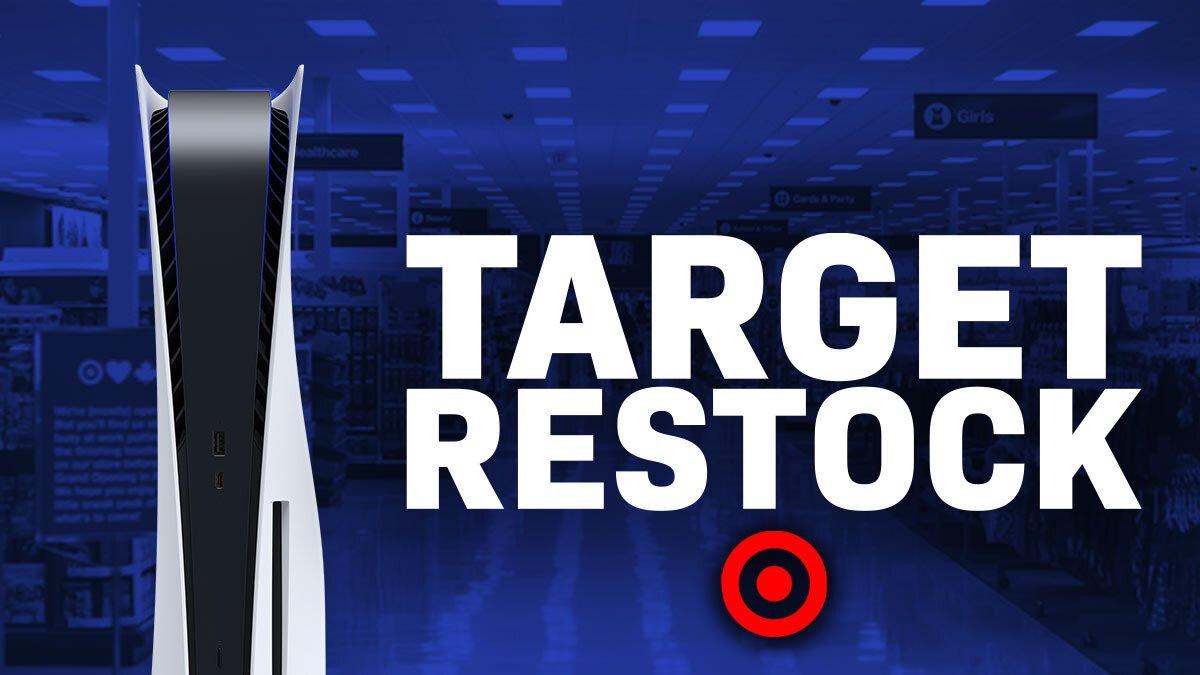 target PS5 restock