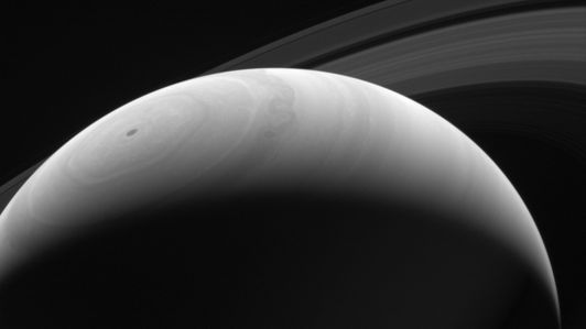 Saturn sunrise