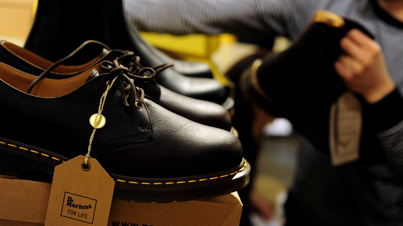 The Dr.  Martens Shoes for London IPO: NPR