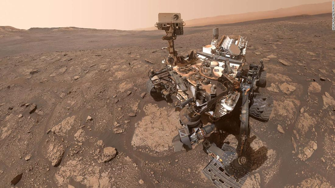 What does the Martian Sound and Rover Welcome Party look like
