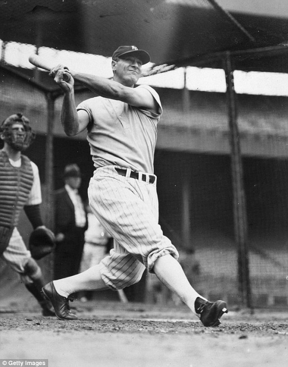 Lou Gehrig was a prominent baseball star while playing for the Yankees between 1923 and 1939. Known as