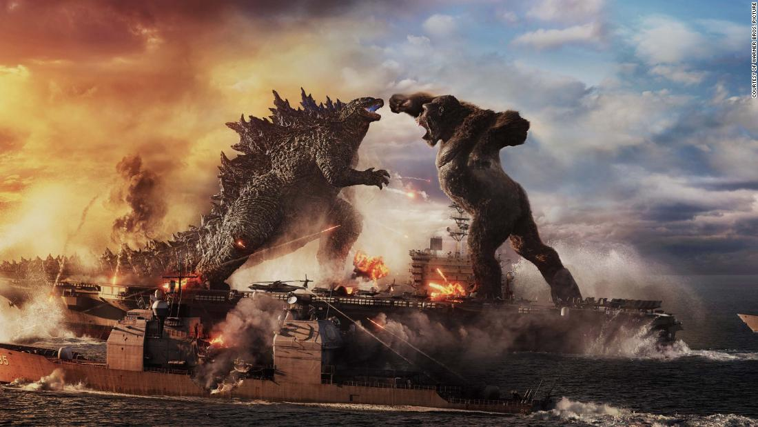 The trailer for Godzilla vs Kong offers the first glimpse into the epic confrontation of monsters