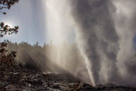 A fresh fountain in Yellowstone will not trigger a major volcanic eruption