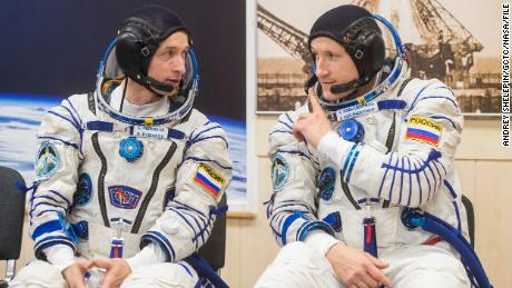 Russian space walk helps prepare a space station for a new unit