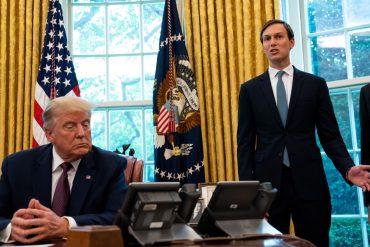 Jared Kushner briefs Jake Sullivan on Trump's Middle East policy