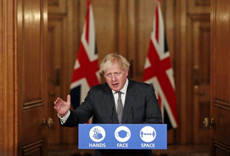 Johnson warns of further lockdown measures as the virus grows