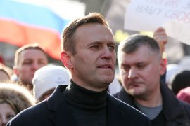 Russian opposition leader Alexei Navalny arrested at Moscow airport