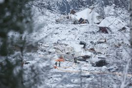 Second body found after landslide in Norway  8 they're still missing