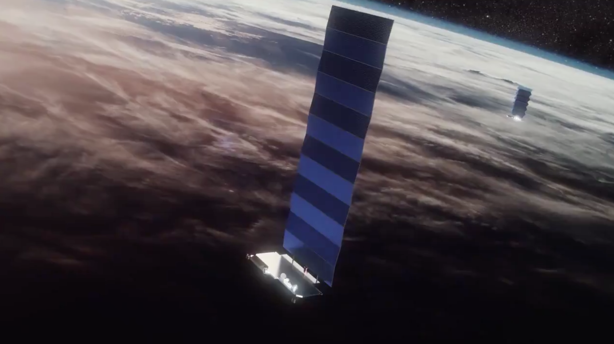 SpaceX is adding laser cross links to the Starlink polar satellites