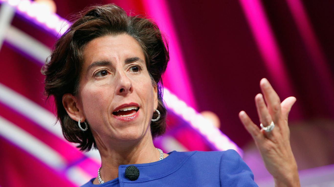 The Governor of Rhode Island is emerging as the leading candidate for the Department of Commerce