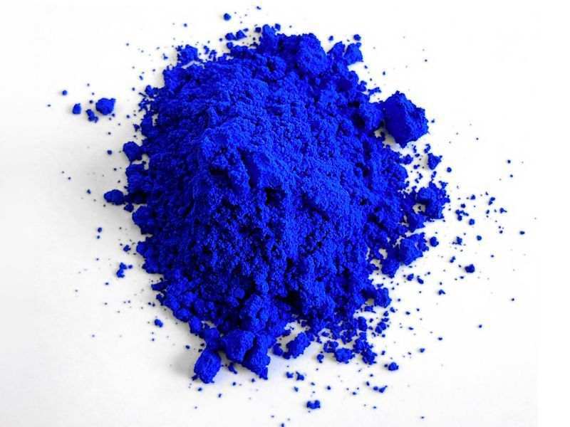 The first new blue dye 200 years ago finally went on sale